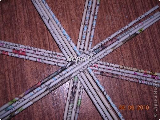 Многие пишут в комментариях, что плетеное донышко получается с дырками, не очень красивое. Вот сегодня я показываю, как сплести донышко плотным.. Фото 4