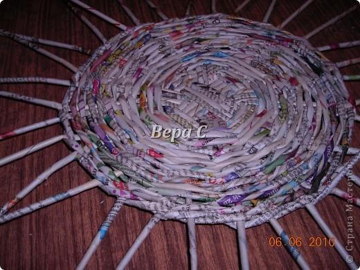 Многие пишут в комментариях, что плетеное донышко получается с дырками, не очень красивое. Вот сегодня я показываю, как сплести донышко плотным.. Фото 14