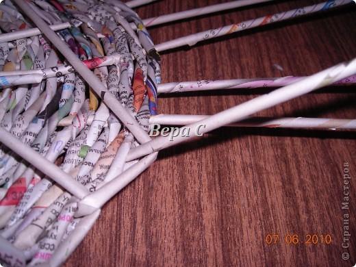 Многие пишут в комментариях, что плетеное донышко получается с дырками, не очень красивое. Вот сегодня я показываю, как сплести донышко плотным.. Фото 17