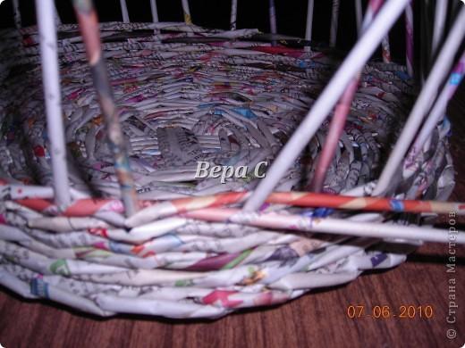 Многие пишут в комментариях, что плетеное донышко получается с дырками, не очень красивое. Вот сегодня я показываю, как сплести донышко плотным.. Фото 19