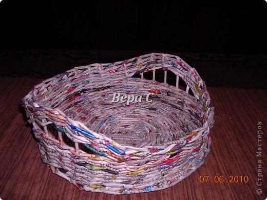 Многие пишут в комментариях, что плетеное донышко получается с дырками, не очень красивое. Вот сегодня я показываю, как сплести донышко плотным.. Фото 24