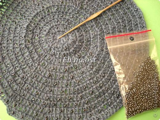 берет осень крючком - Вязание, вышивка. берет крючком на осень.