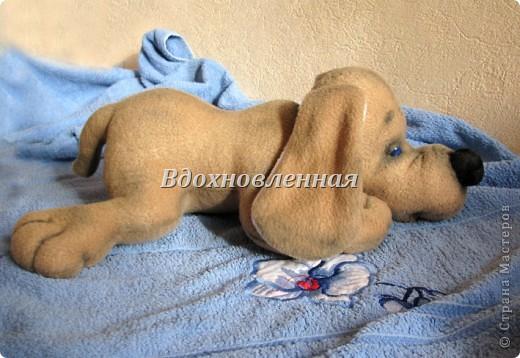 Игрушка Шитьё: Собачка Сонечка Ткань. Фото 2