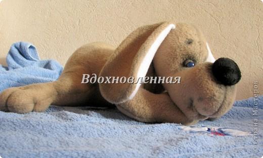 Игрушка Шитьё: Собачка Сонечка Ткань. Фото 5