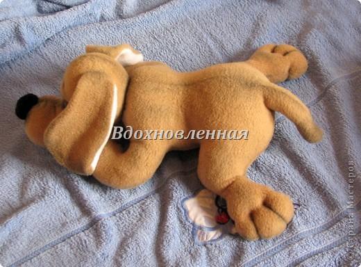 Игрушка Шитьё: Собачка Сонечка Ткань. Фото 8