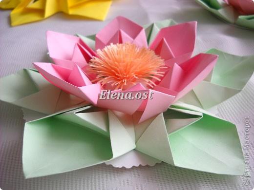 Оригами оригами модульное цветок