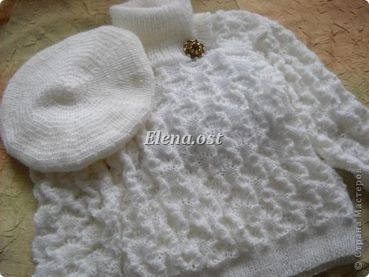 """Гардероб,  Вязание, Вязание спицами, : Вязаный свитер из Ангора RAM """"Белый снег"""" Пряжа 8 марта, День рождения, Новый год, Рождество. Фото 1"""