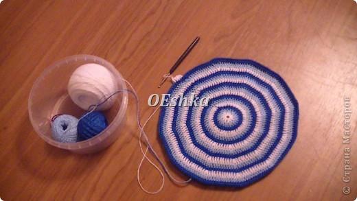 Описание: вязание тюбетейки