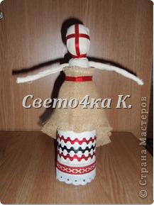 Мастер-класс Шитьё: Мотанка Ткань. Фото 12
