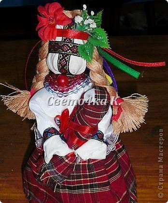 Мастер-класс Шитьё: Мотанка Ткань. Фото 16
