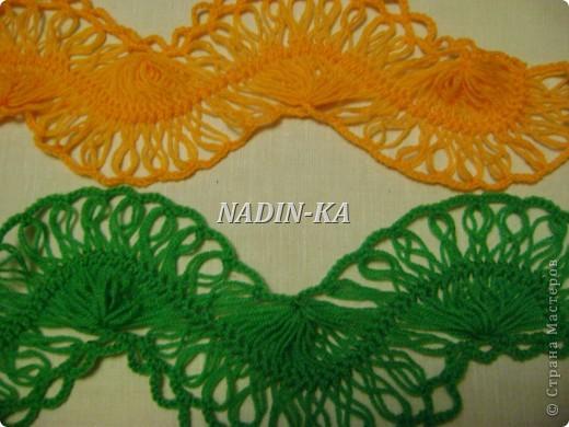 Гардероб, Мастер-класс Вязание, Вязание крючком: МК вязание на вилке. 1 Нитки, Пряжа. Фото 22