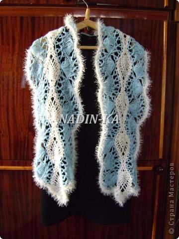 Гардероб, Мастер-класс Вязание, Вязание крючком: МК вязание на вилке. 1 Нитки, Пряжа. Фото 25