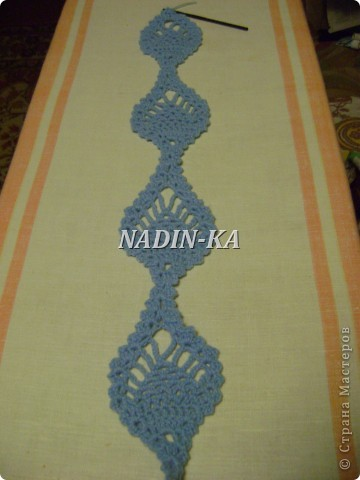 Гардероб, Мастер-класс Вязание, Вязание крючком: МК вязание на вилке. 1 Нитки, Пряжа. Фото 26