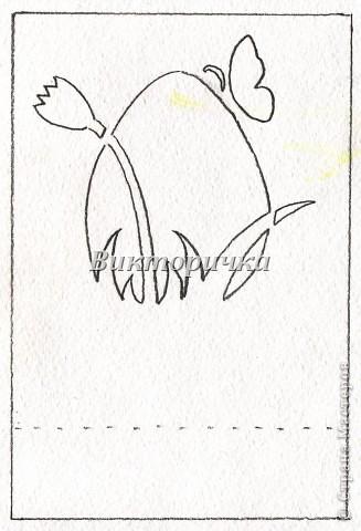 Объёмные открытки своими руками схемы на пасху