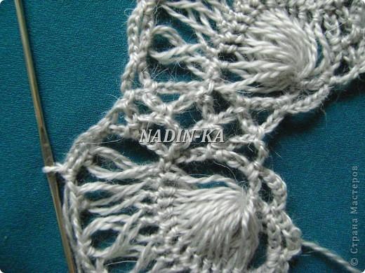 Гардероб, Мастер-класс Вязание, Вязание крючком: МК 3. Вязание на вилке. Берет из ракушек Нитки, Пряжа. Фото 15