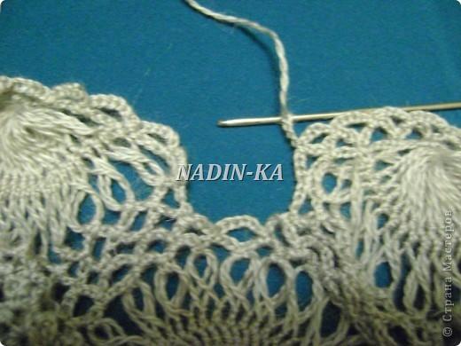 Гардероб, Мастер-класс Вязание, Вязание крючком: МК 3. Вязание на вилке. Берет из ракушек Нитки, Пряжа. Фото 27