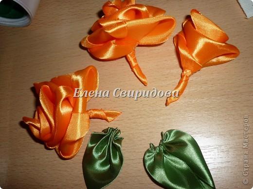Мастер-класс Шитьё: Картина с розами из атласных лент + мини МК Ленты.