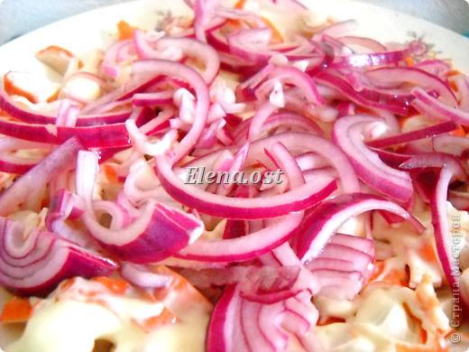 Салат слоеный с киви.    . Фото 4