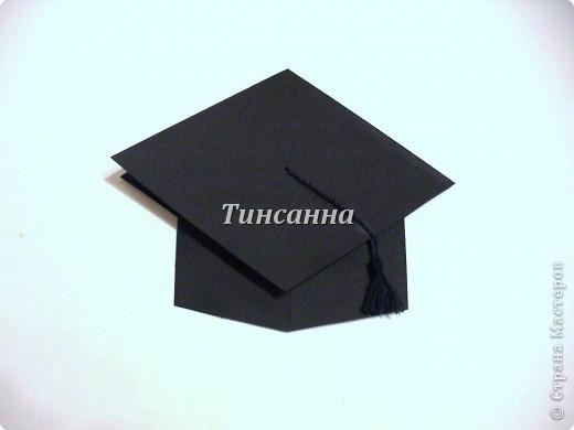 Как сделать шапку выпускника из картона