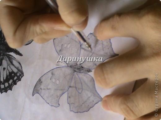 Бабочка из органзы своими руками мастер класс