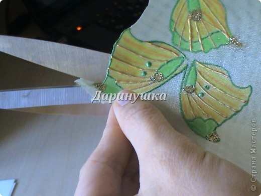 Мастер-класс: Мои бабочки + МК Ткань. Фото 11