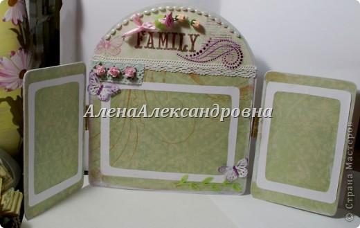 Рамки в фотоальбом своими руками