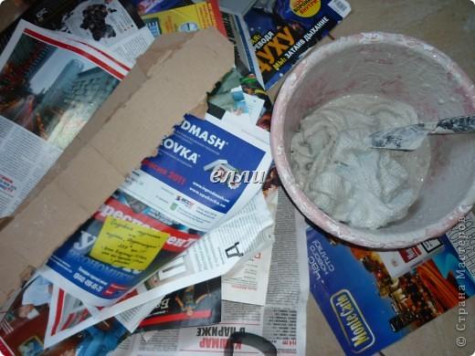 Мастер-класс Макет: Цветочный горшок МК.Мешок с мышкой. Бутылки пластиковые, Гипс, Клей, Краска, Мешковина. Фото 6