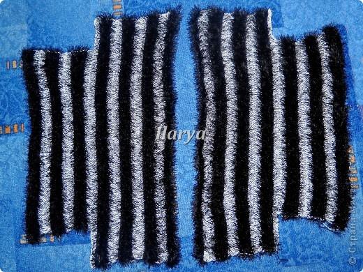 Гардероб Вязание спицами: Пушистое болеро Пряжа. Фото 3