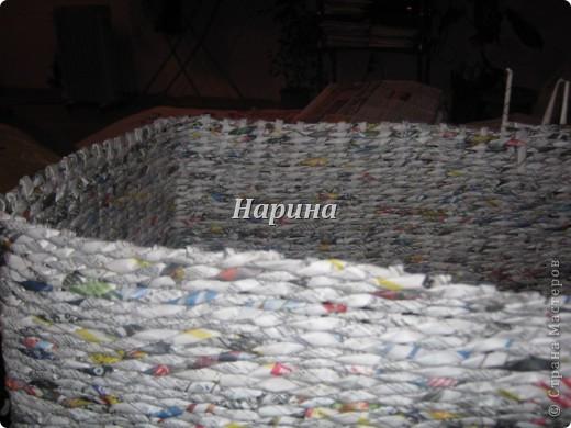 Мастер-класс Плетение: ящики из газет Бумага газетная. Фото 5