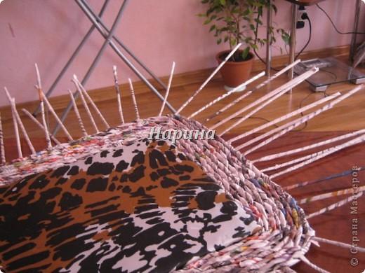 Мастер-класс Плетение: ящики из газет Бумага газетная. Фото 10