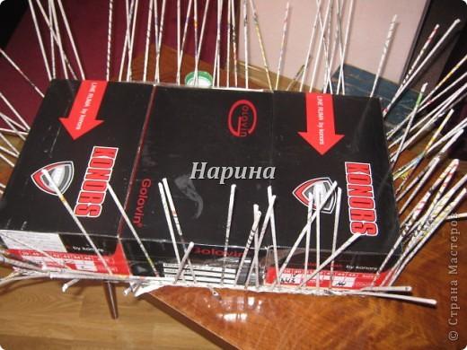 Мастер-класс Плетение: ящики из газет Бумага газетная. Фото 2