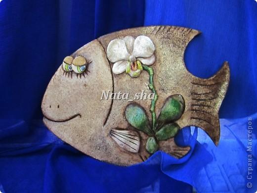 Поделка, изделие Лепка: Рыбки в подарок Тесто соленое. Фото 1