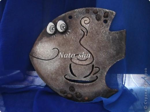 Поделка, изделие Лепка: Рыбки в подарок Тесто соленое. Фото 2