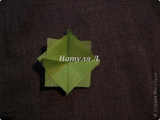 Мастер-класс, Поделка, изделие Бумагопластика: Кто спрашивал про листья из салфеток Салфетки. Фото 5