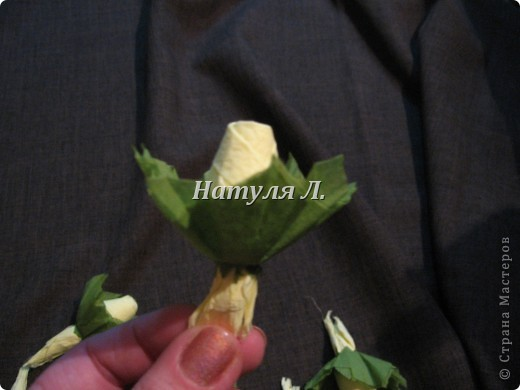 Мастер-класс, Поделка, изделие Бумагопластика: Кто спрашивал про листья из салфеток Салфетки. Фото 7