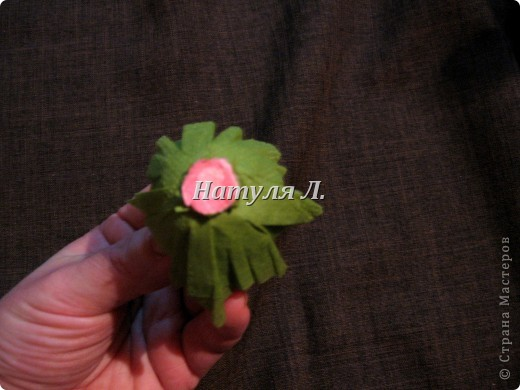 Мастер-класс, Поделка, изделие Бумагопластика: Кто спрашивал про листья из салфеток Салфетки. Фото 9