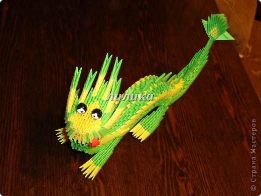 Поделка, изделие Оригами модульное: Готовимся к новому году. Бумага. Фото 2