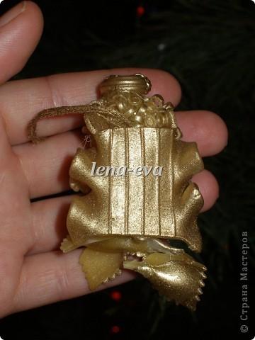Мастер-класс, Оберег, Поделка, изделие: Вермишеливые ангелочки МК Новый год, Рождество. Фото 20