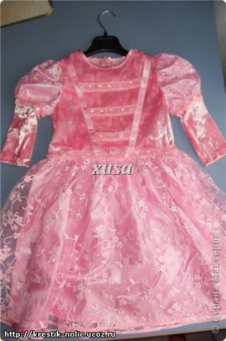 Шьём платье для девочки.  МК в картинках.