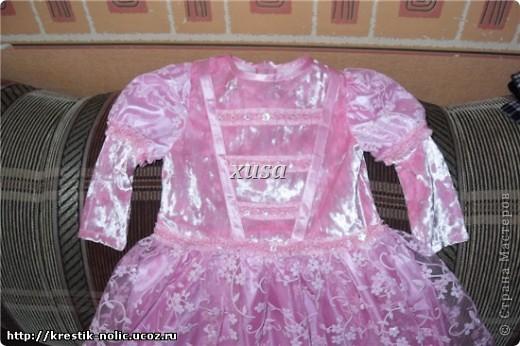 как сшить пышное платье на девочку.