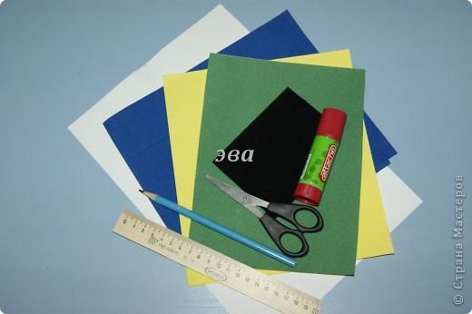Мастер-класс Аппликация, Бумагопластика: поздравительная открытка Бумага 8 марта, День рождения. Фото 2