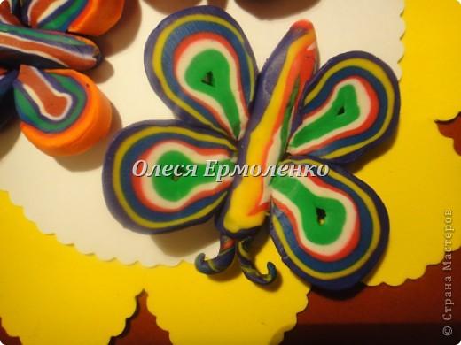 Мастер-класс, Поделка, изделие, Раннее развитие Аппликация из пластилина (+ обратная), Лепка: Бабочки любимая тема моей дочи! Пластилин Дебют. Фото 8