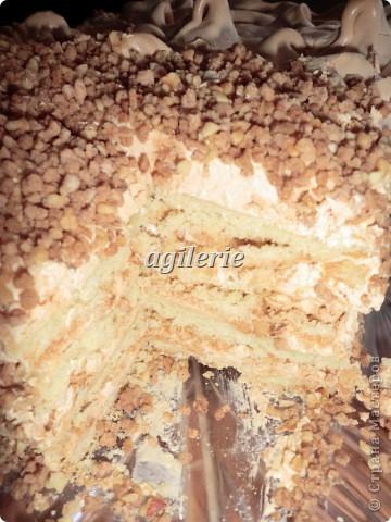 """Кулинария, Мастер-класс Рецепт кулинарный: Торт """"Воздушный Сникерс"""". Продукты пищевые Рождество. Фото 8"""