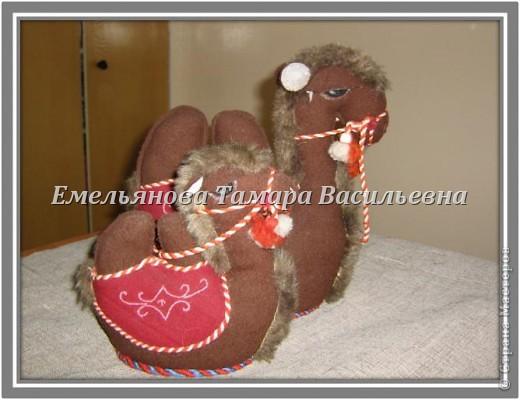 Мастер-класс Шитьё: Сувенир «Верблюд» Ткань. Фото 6