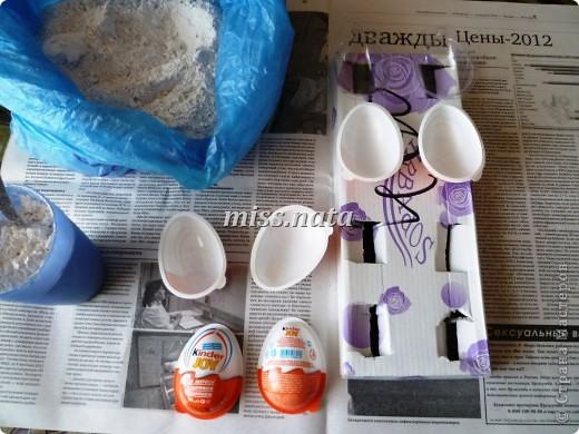 Мастер-класс, Поделка, изделие Декупаж: МК по созданию яиц- магнитов  к Пасхе Гипс, Краска, Магниты, Салфетки Пасха. Фото 2