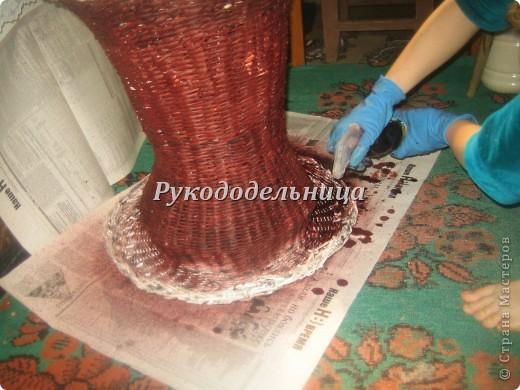 стекло Ваз окраска газетных трубочек после плетения знаете