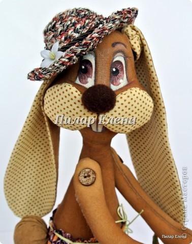 Куклы Шитьё: Кролик Фока Ткань. Фото 3