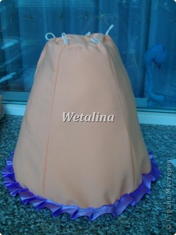 Куклы, Мастер-класс Шитьё: Грелка на чайник и МК каркаса нижней юбки Проволока, Ткань. Фото 24