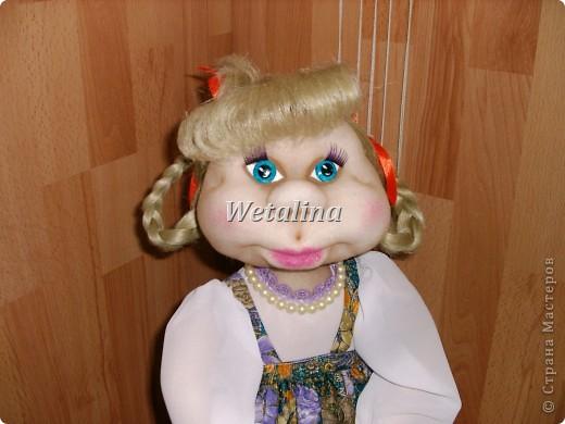 Куклы, Мастер-класс Шитьё: Грелка на чайник и МК каркаса нижней юбки Проволока, Ткань. Фото 26