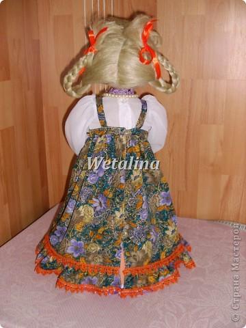 Куклы, Мастер-класс Шитьё: Грелка на чайник и МК каркаса нижней юбки Проволока, Ткань. Фото 27